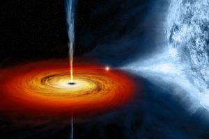 black holes, Stars, Quasars, Space
