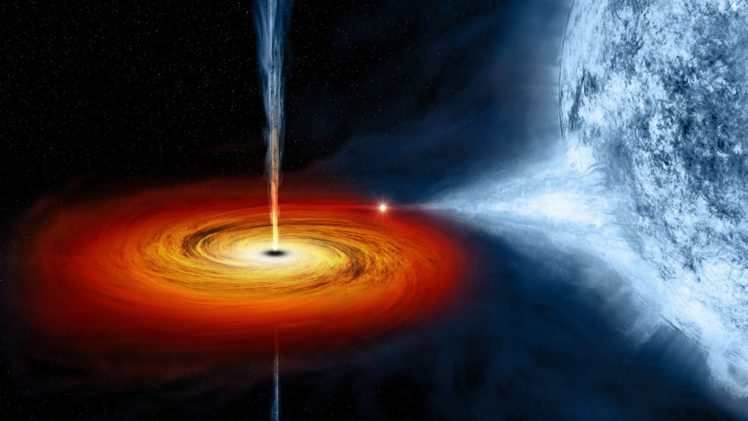 black holes, Stars, Quasars, Space HD Wallpaper Desktop Background
