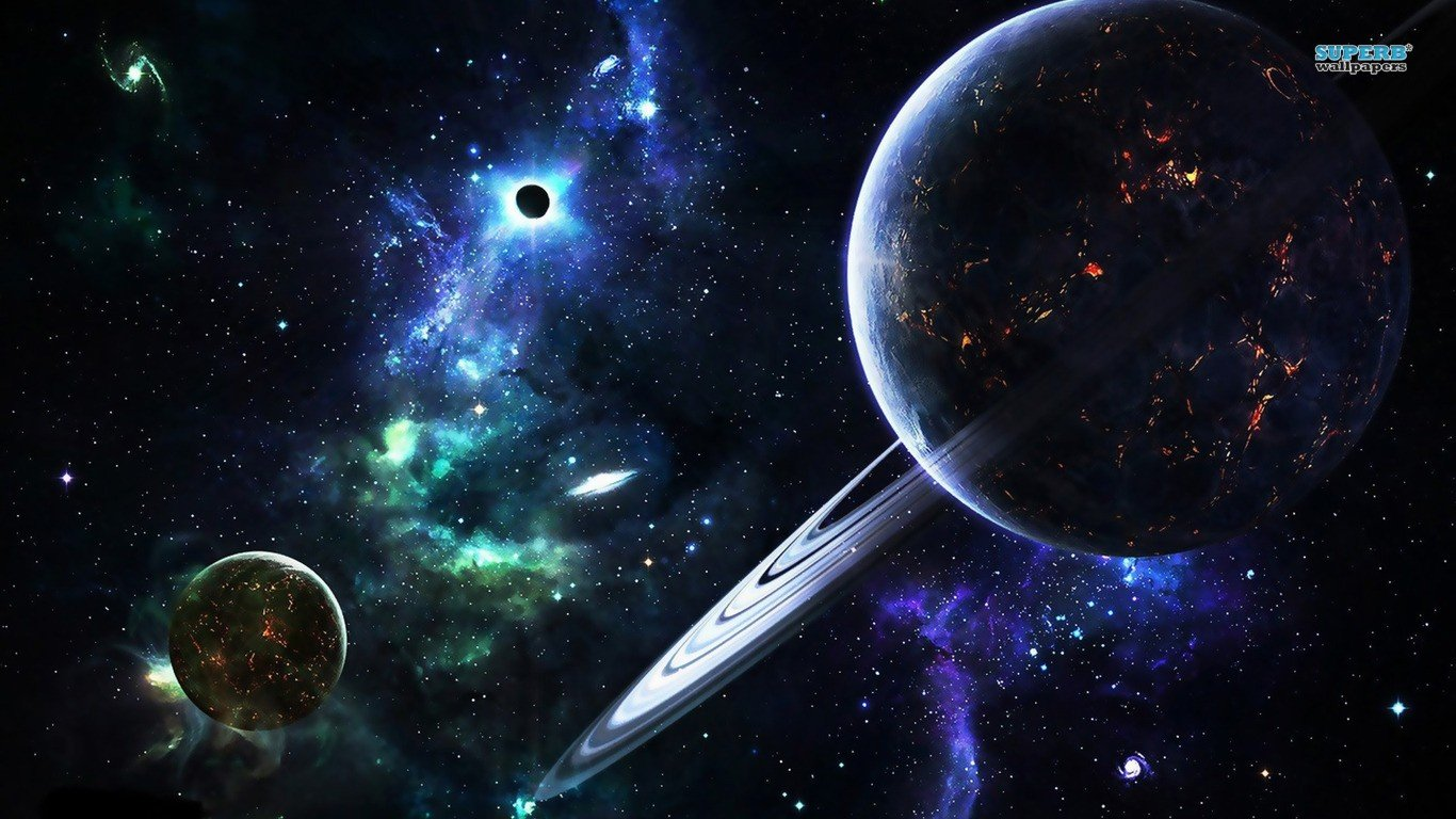 planet, Space, Stars Wallpaper