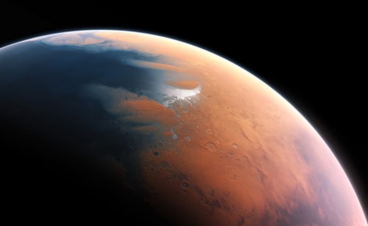 space art, Digital art, Planet, Mars HD Wallpapers / Desktop and Mobile  Images & Photos
