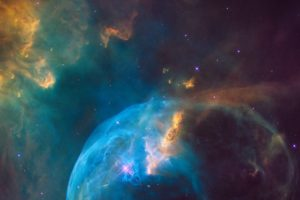 NASA, Space, Hubble Deep Field, NGC 7635: The Bubble Nebula, The Bubble Nebula