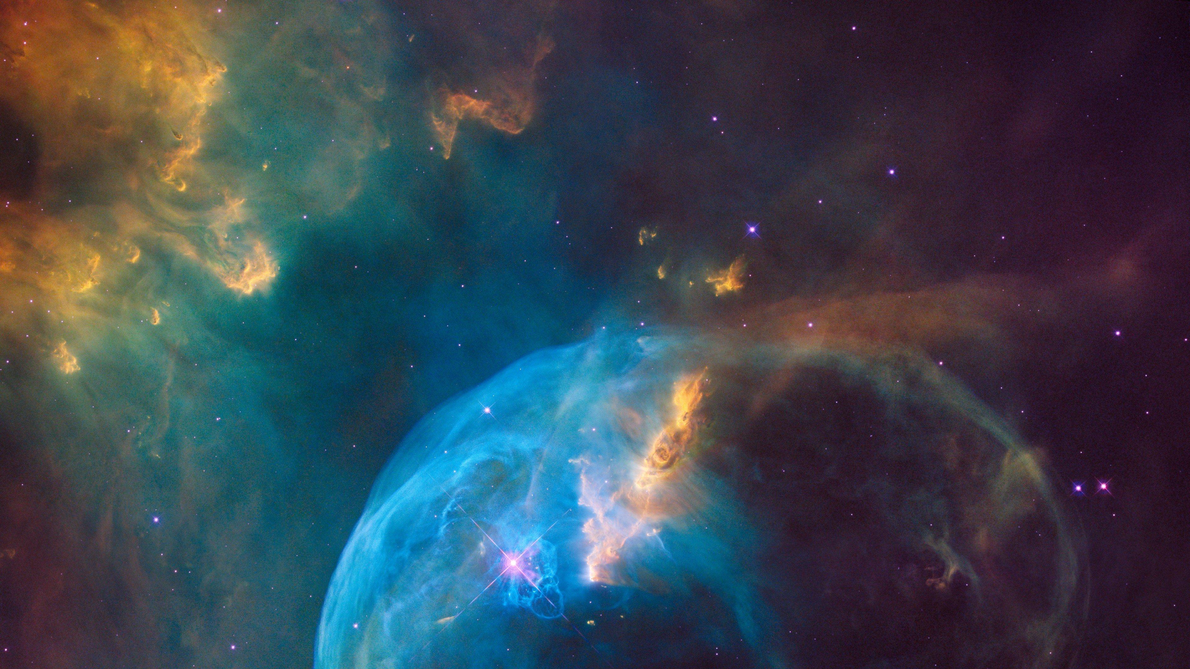 NASA, Space, Hubble Deep Field, NGC 7635: The Bubble ...