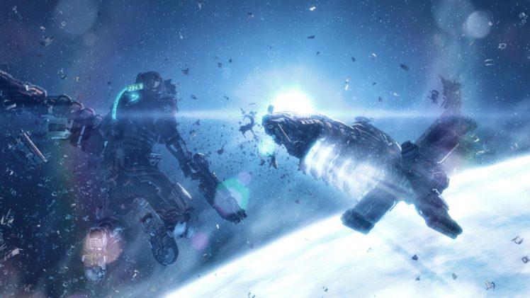 space, Science fiction, Dead Space 2, Video games, Futuristic, Digital art HD Wallpaper Desktop Background
