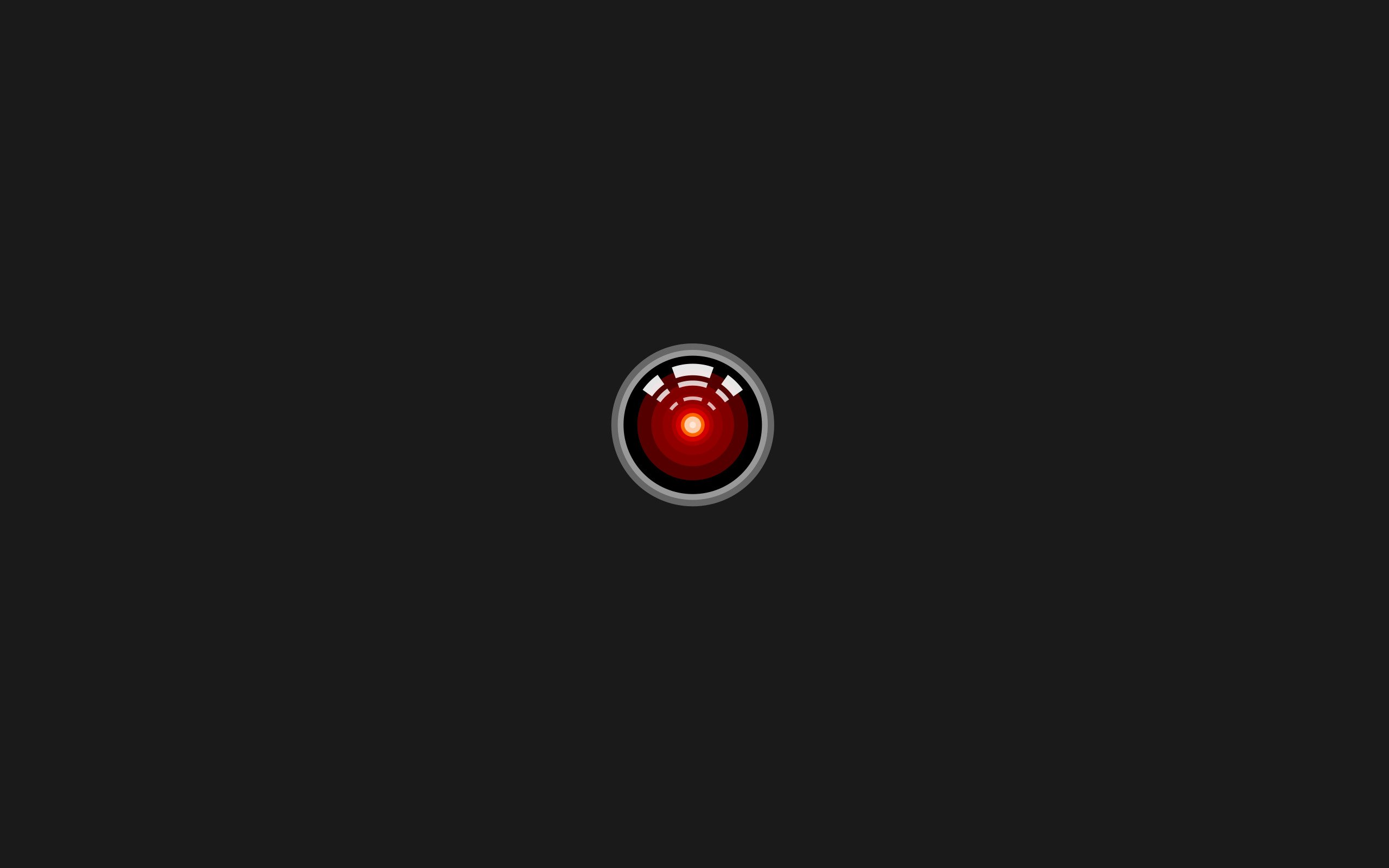 Hal 9000 Minimalism 2001 A Space Odyssey Hd Wallpapers