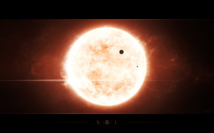 stars, Space, Sol, Space art HD Wallpaper Desktop Background