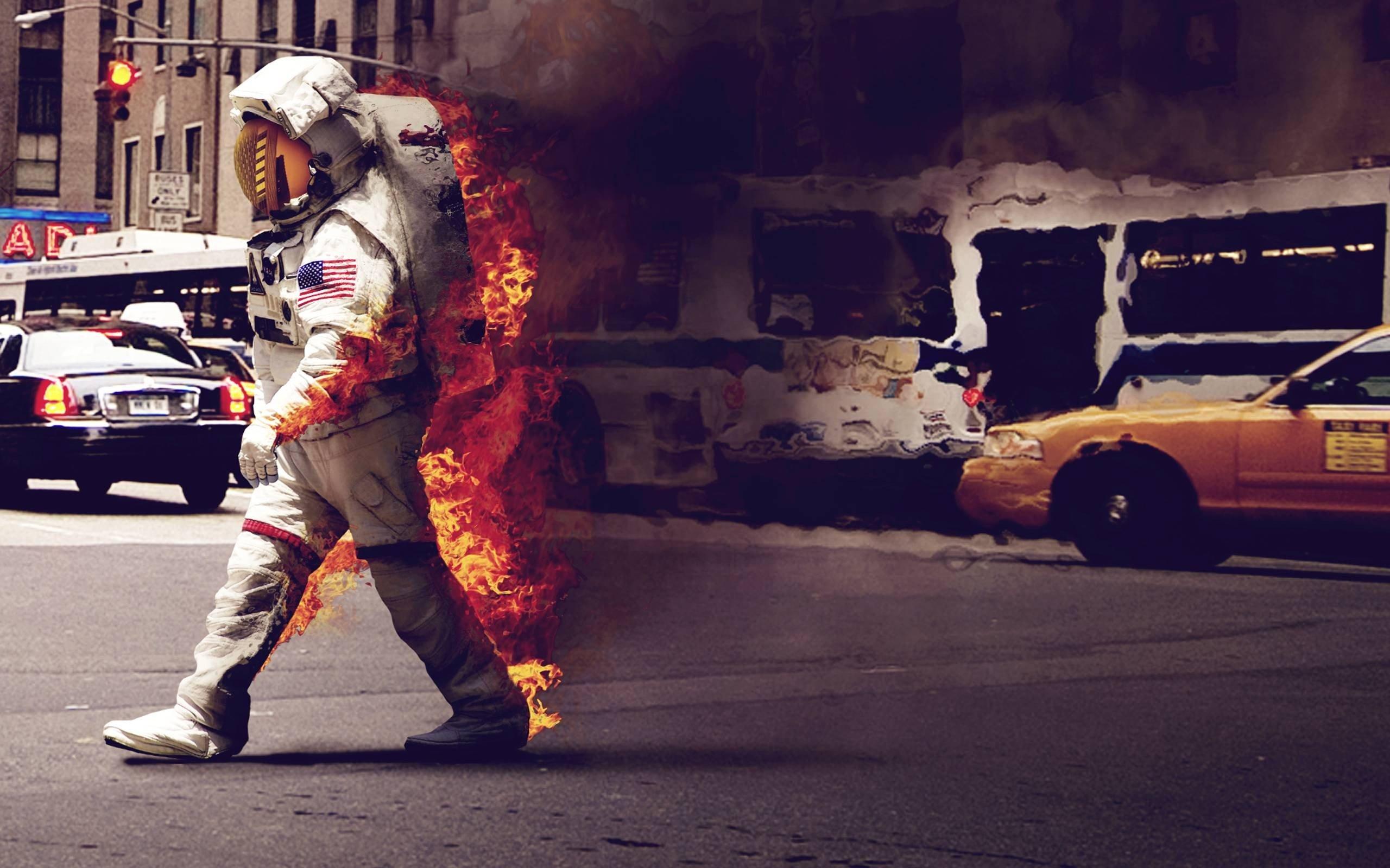 space suit, Jack Crossing, Astronaut, Street, NASA, Space ...