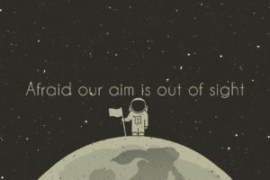 sight, Aiming, Space, Moon