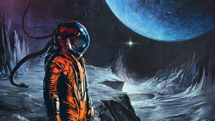 astronaut in space art - photo #9