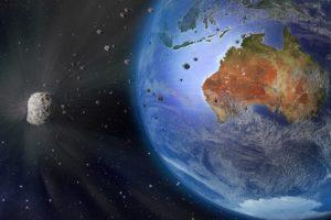 Earth, Digital art, Space art, Space, Australia, Planet, Meteors