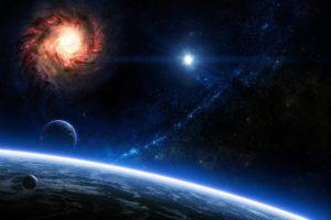 space, Galaxy, Space art