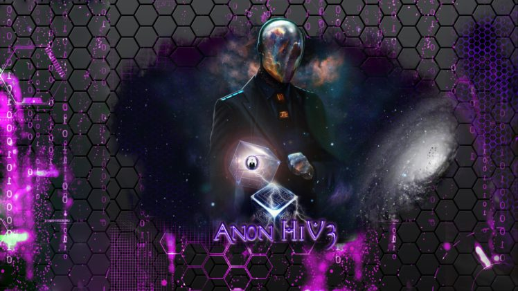 Anonymous, Mind, Space, Hacking, Galaxy, YouTube, Computer HD Wallpaper Desktop Background