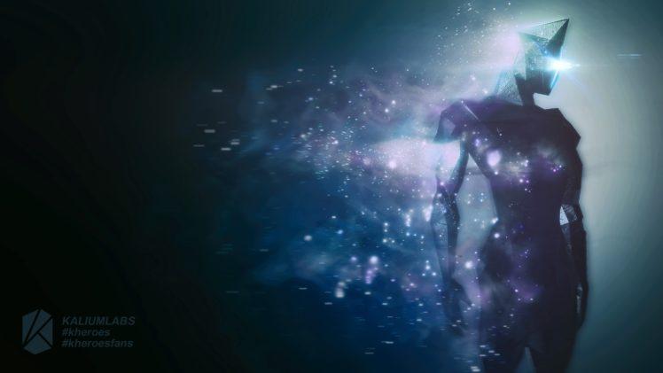 original characters, Comics, Universe, Particle, Space, Debris, Atmosphere, Kheroes, Kh`ay, Kaliumlabs HD Wallpaper Desktop Background