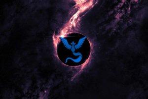 Pokemon Go, Team Mystic, Space, Blue