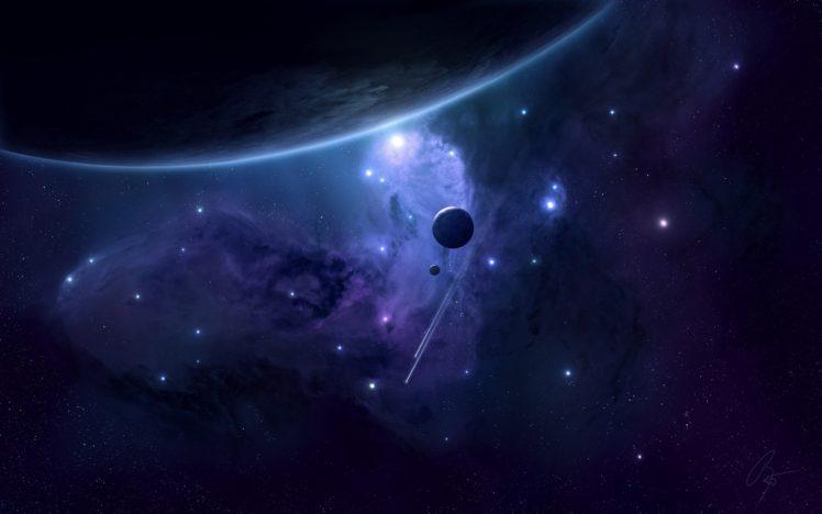 space, Planet, Nebula, Stars HD Wallpaper Desktop Background
