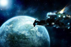 space, Spaceship