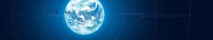 Earth, Space, Atmosphere, Infographics HD Wallpaper Desktop Background