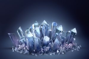 crystal, Space