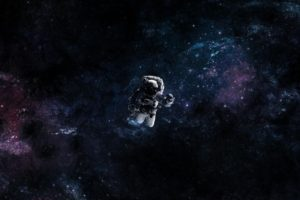 astronaut, Fan art, Universe, Space