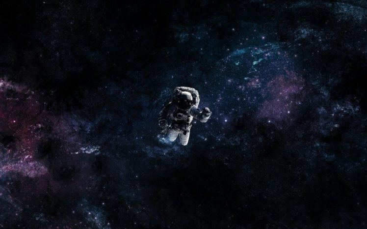 astronaut, Fan art, Universe, Space HD Wallpaper Desktop Background