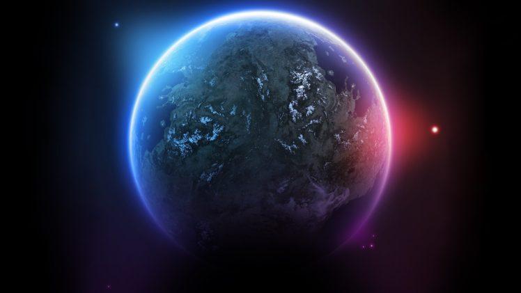 space, Planet, 3D, Space art, Digital art HD Wallpaper Desktop Background