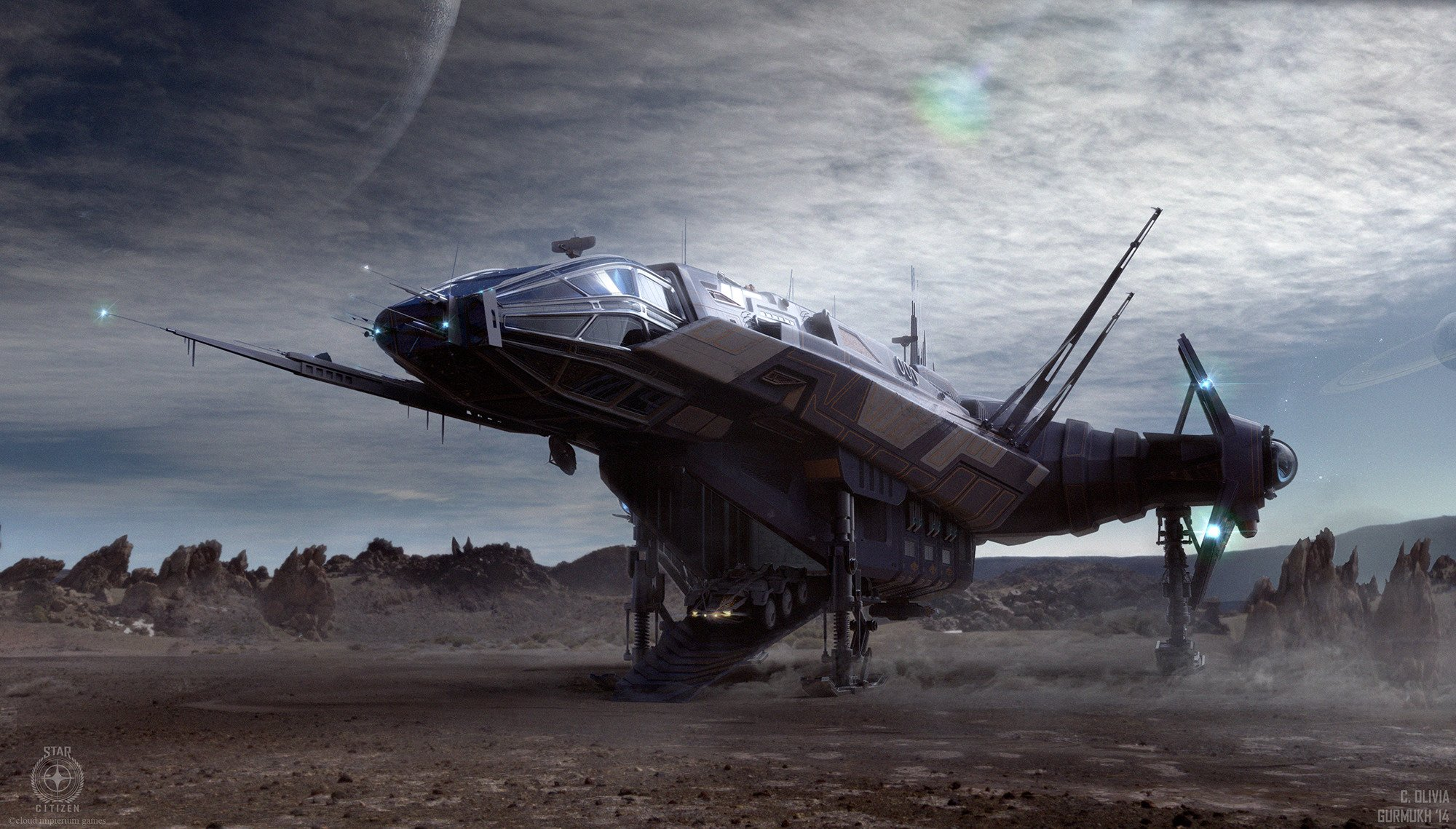 Anvil Aerospace Carrack Star Citizen HD Wallpapers Desktop And Mobile Images Photos