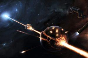 space, Planet, Destruction