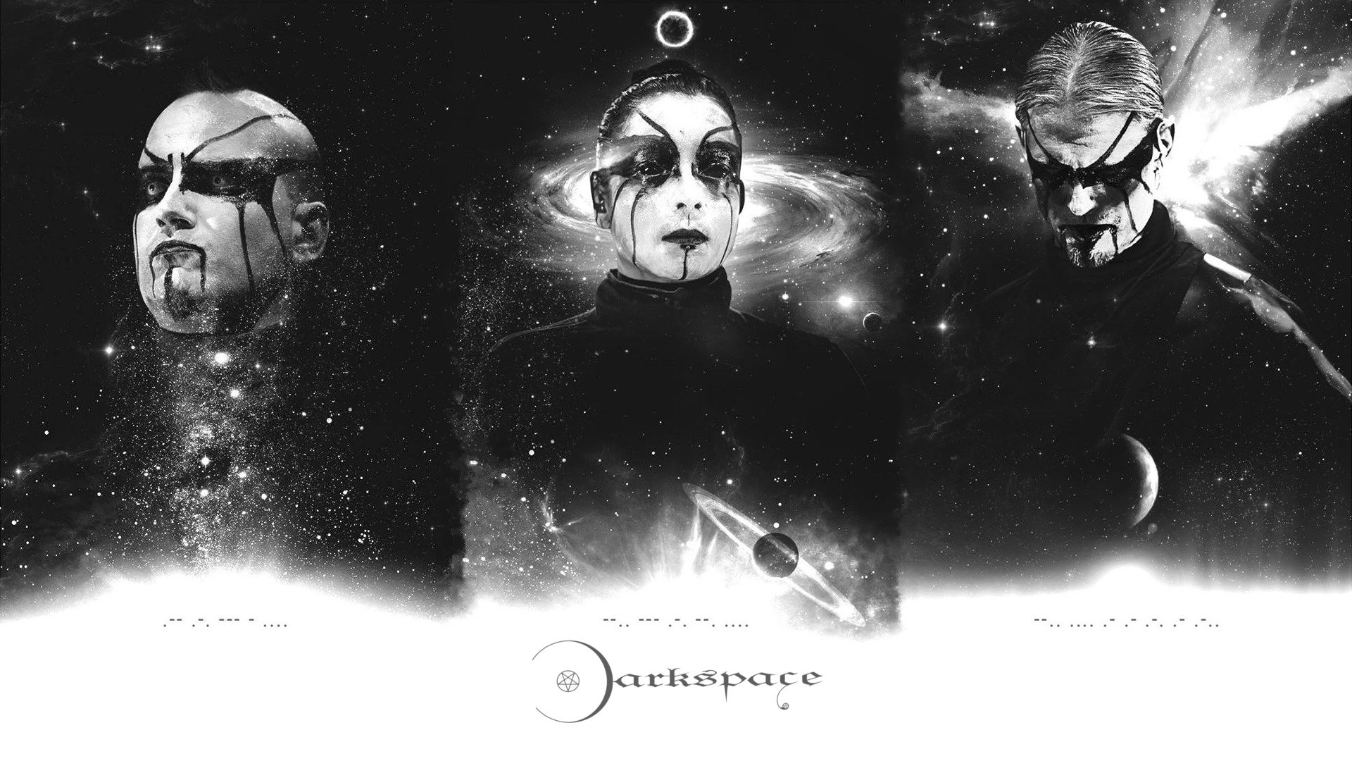 Darkspace Black Metal Space Collage Hd Wallpapers Desktop And