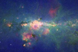 ultra wide, Space, Peony Nebula WR 102ka