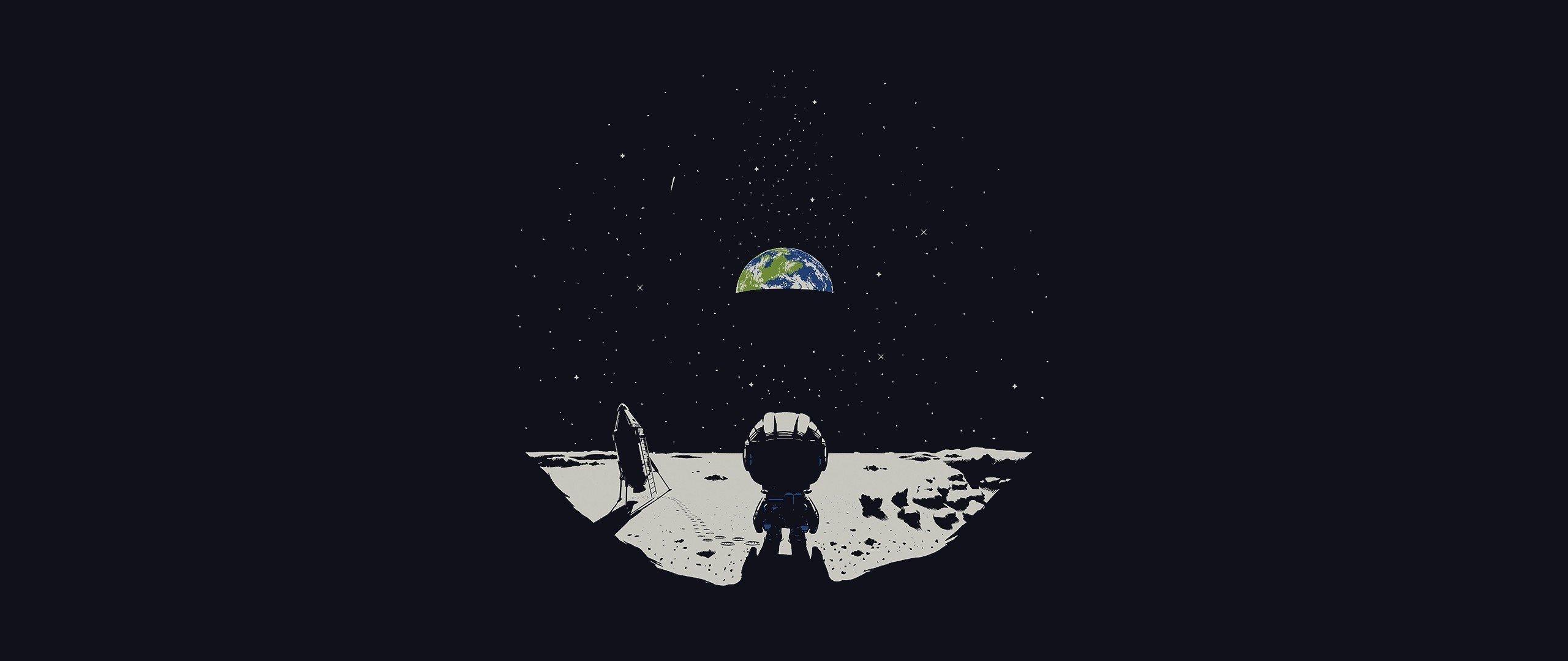 Earth ultra wide moon kerbal space program hd - Wallpaper kerbal space program ...