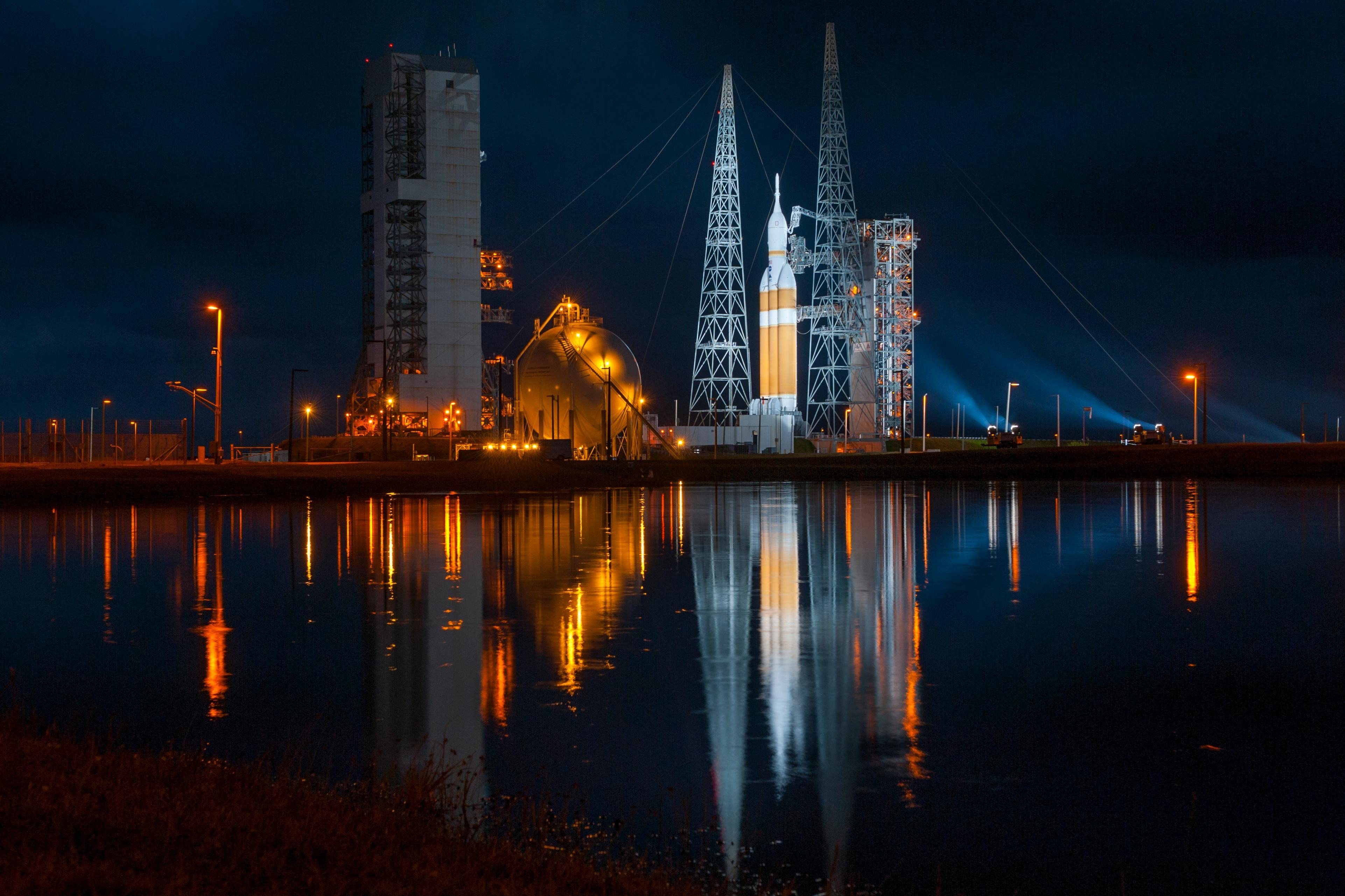 Rocket launch space lake water reflection nasa hd - Nasa space wallpaper hd ...