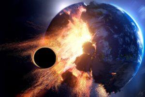 3D, Space, Planet, Destruction