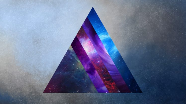space, Prism, Triangle HD Wallpaper Desktop Background