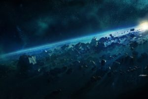 space, Space art, Asteroids, Asteroid