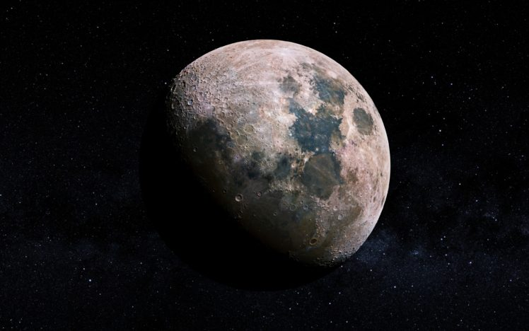 space, Moon HD Wallpaper Desktop Background