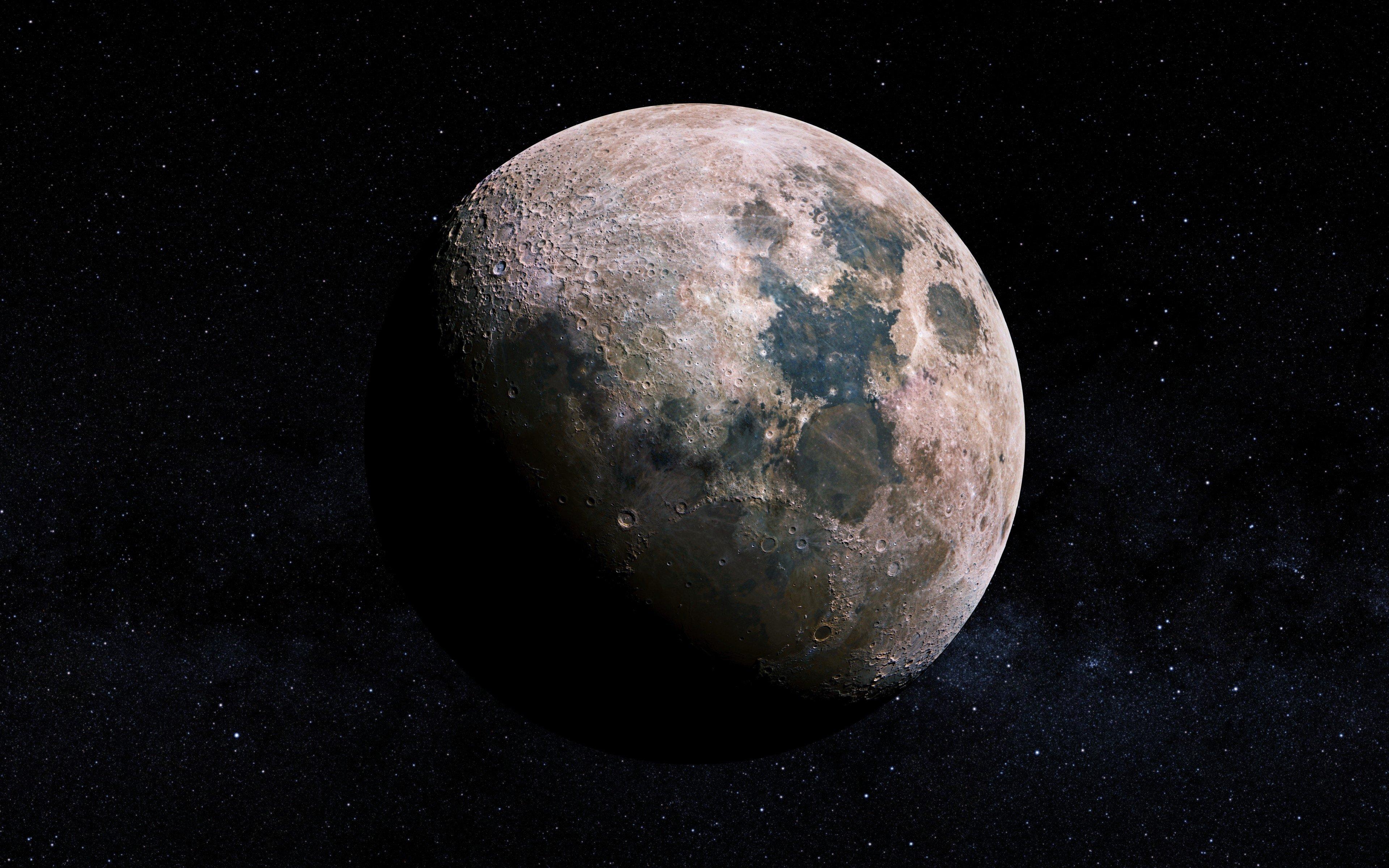 space, Moon Wallpaper