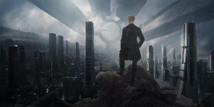 Mass Effect, Space station, Mash ups HD Wallpaper Desktop Background