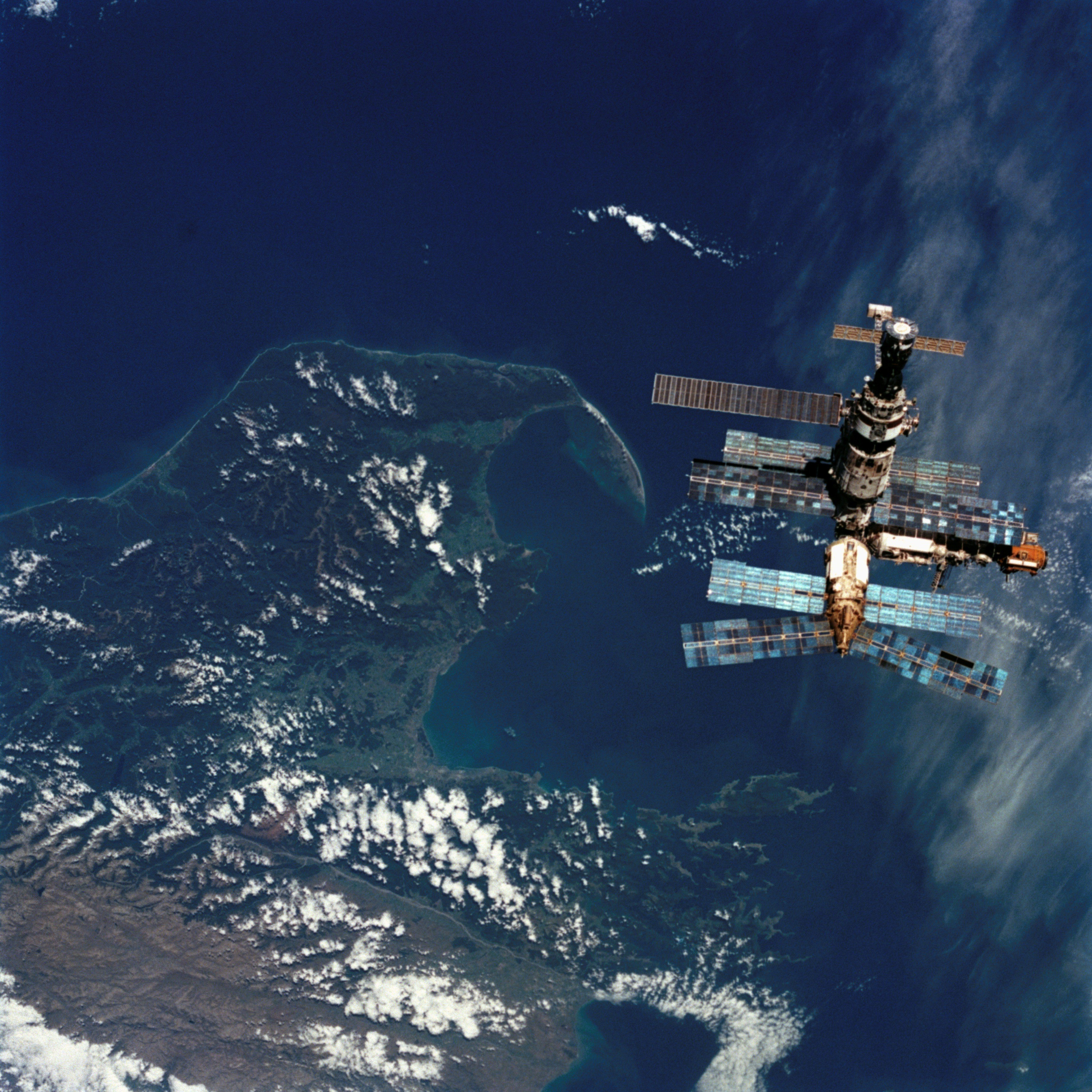 Nasa Russia Mir Space Station New Zealand Hd Wallpapers