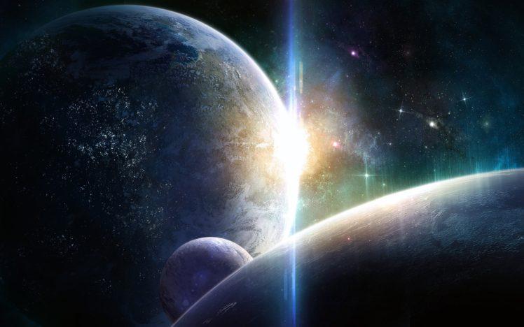 space, Planet HD Wallpaper Desktop Background
