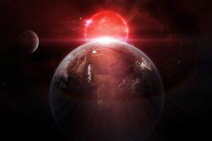 space, Planet, Space art, Digital art