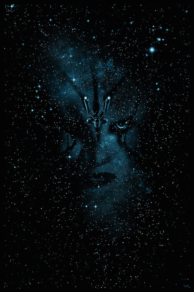Face Portrait Display Movies Star Trek Beyond Space HD