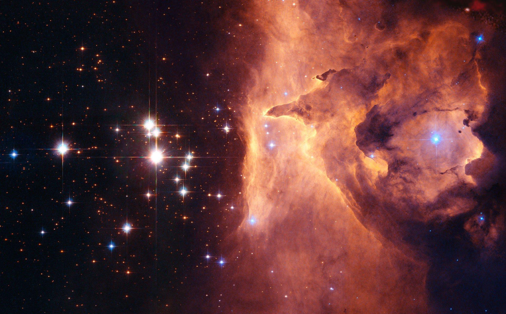 space, Nebula Wallpaper