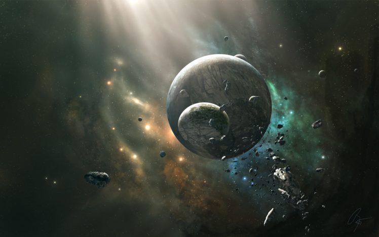 JoeyJazz, Space, Planet HD Wallpaper Desktop Background