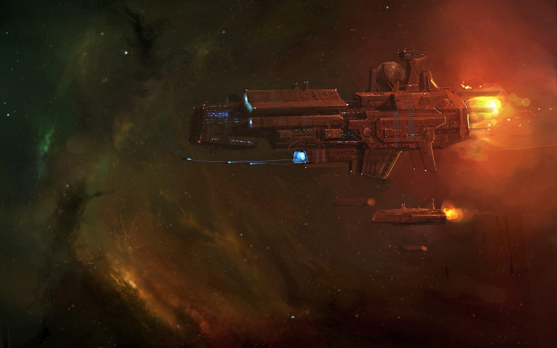 Space, Spaceship, Science Fiction HD Wallpapers / Desktop