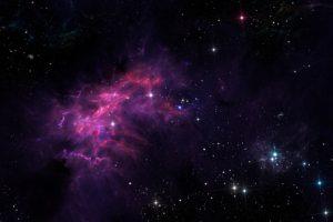 space, Space art, Stars, Planet, Nebula, Galaxy