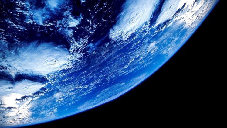 space, Space art, Earth, Atmosphere, Clouds HD Wallpaper Desktop Background