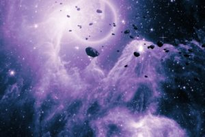 space, Stars, Nebula, Galaxy, Space art