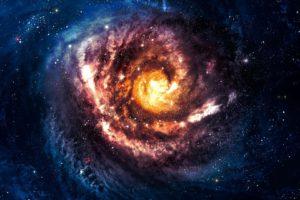 space, Stars, Nebula, Galaxy, Space art