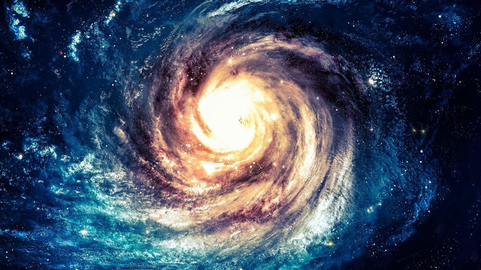 space, Stars, Nebula, Galaxy, Space art, Spiral galaxy ...