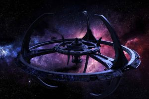 stars, Space, Planet, Galaxy, Star Trek, Star Trek: Deep Space 9, Space station