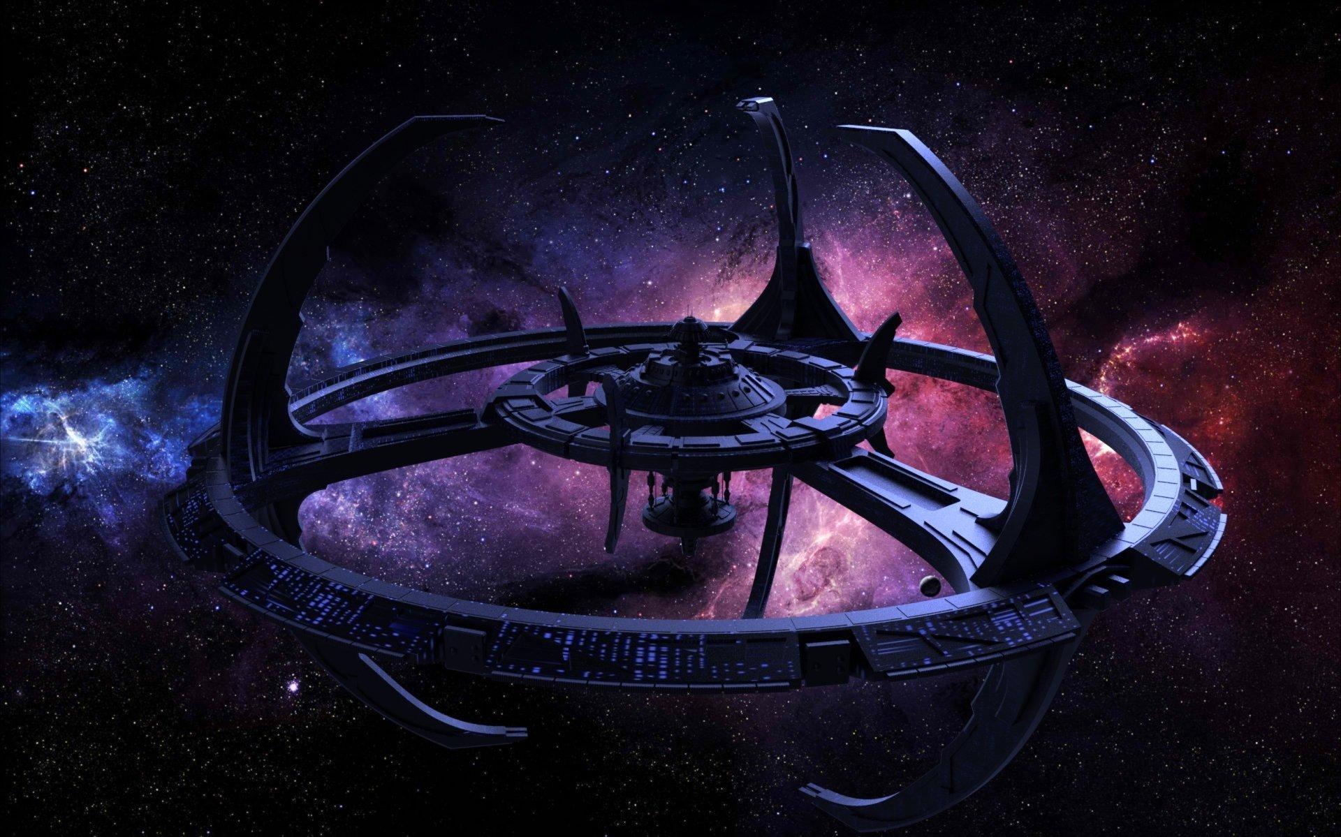 Stars space planet galaxy star trek star trek deep - Deep space wallpaper hd ...